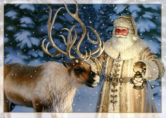 santa-with-reindeer-christmas-card