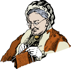 granny-clipart-knitting_granny_Vector_Clipart