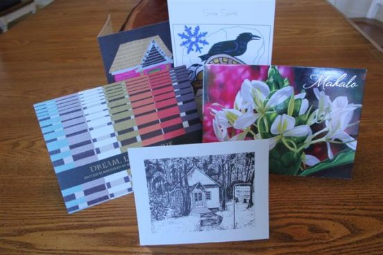 Book photos - cards from Readers