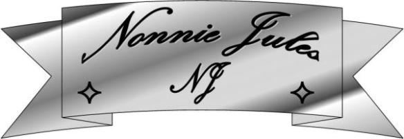 Banner logo for author Nonnie Julies, president of Rave Reviews Book Club